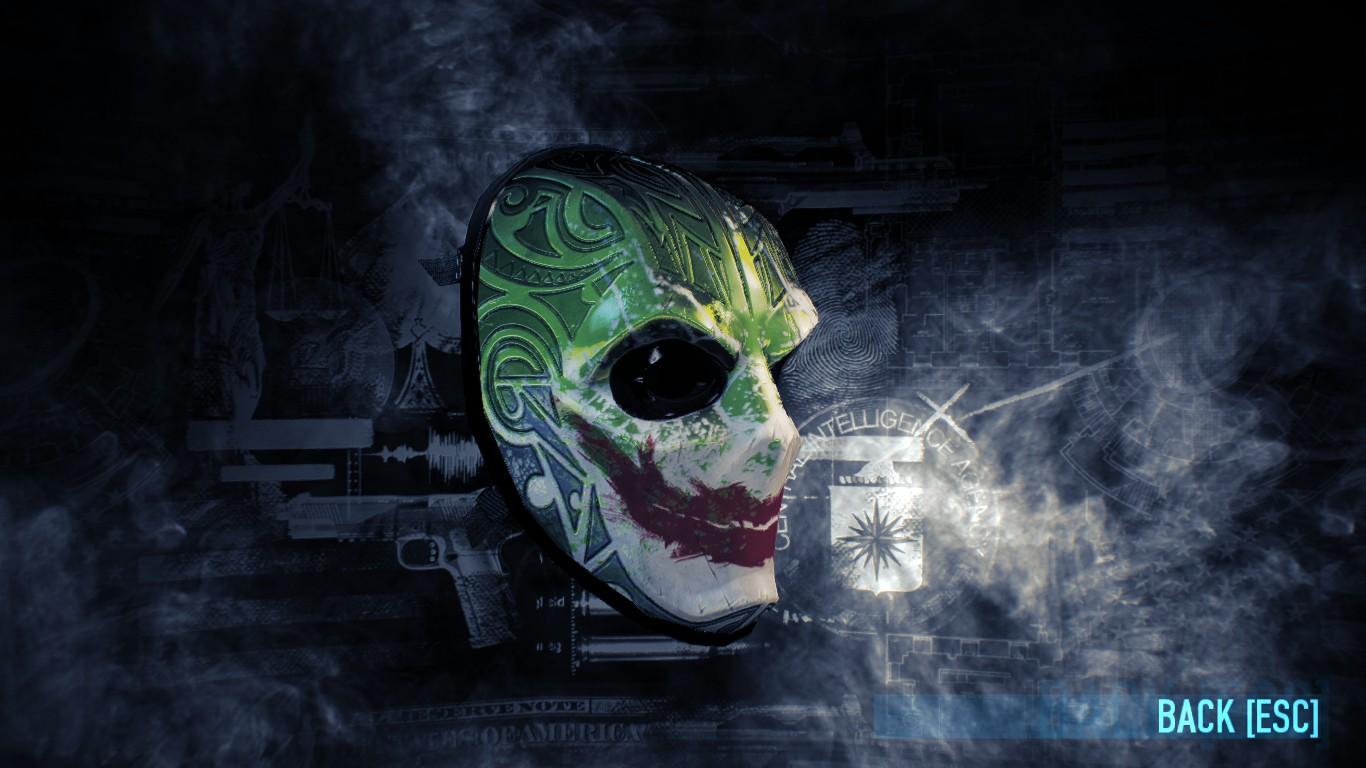 steam community guide joker batman mask guide. Black Bedroom Furniture Sets. Home Design Ideas