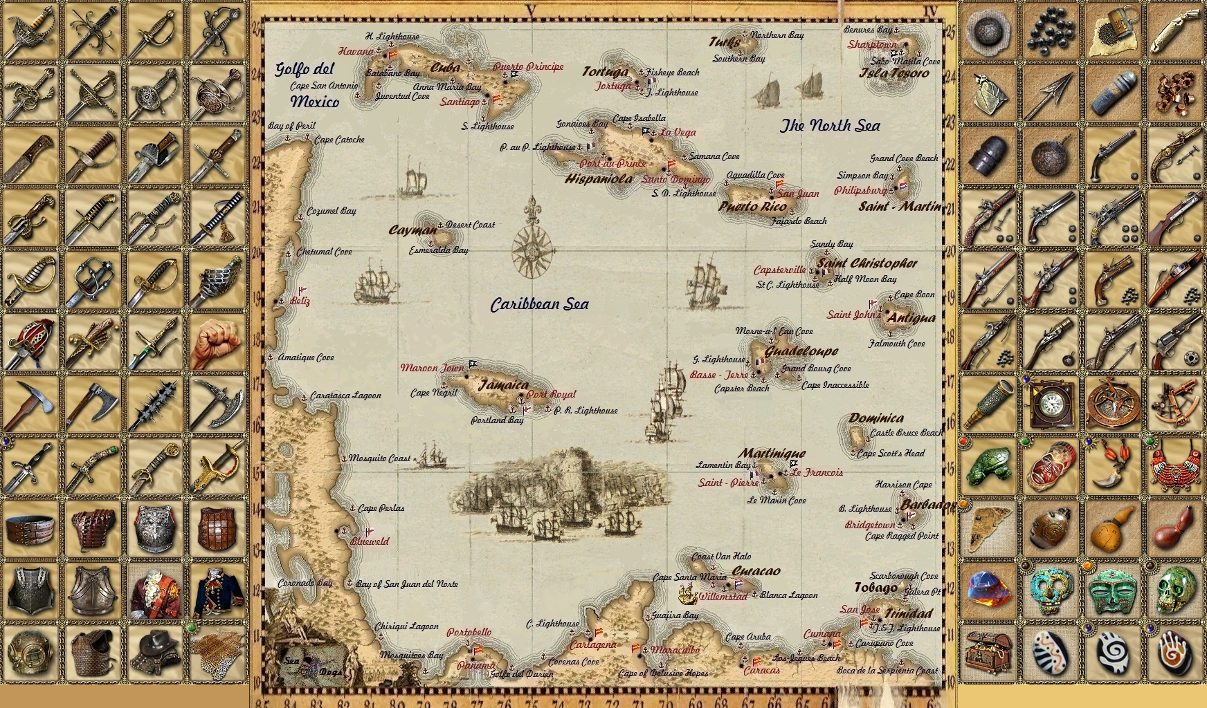 Steam Community :: Guide :: Caribbean Map