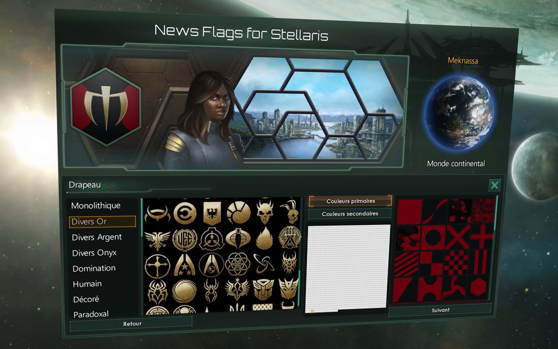 Emblems & Backgrounds / Эмблемы и фоны для флагов