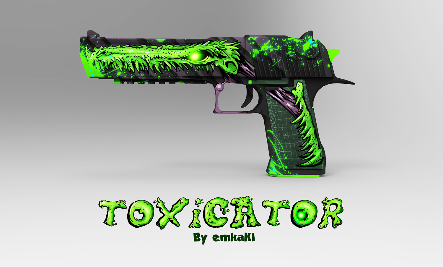5 best Desert Eagle black toxicator