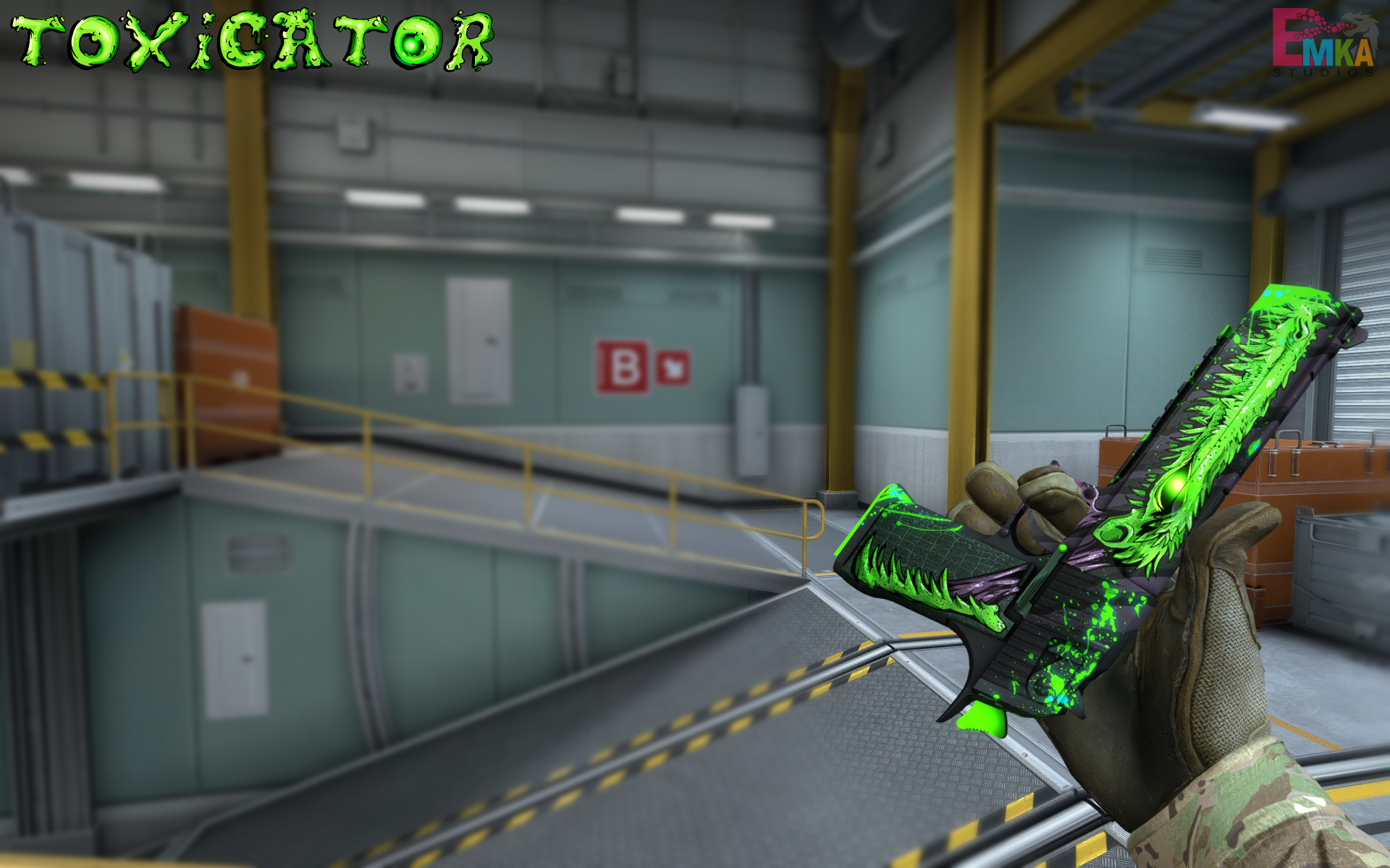 5 best Desert Eagle black toxicator 3