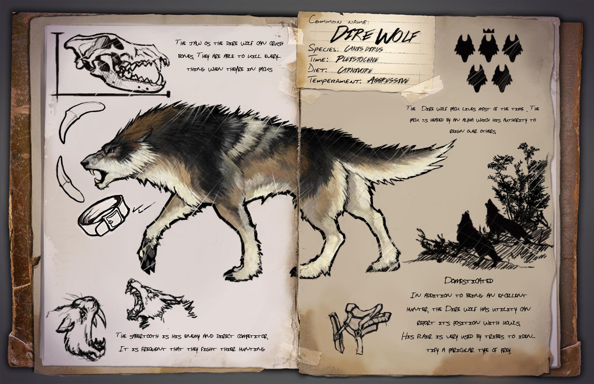 steam community dire wolf