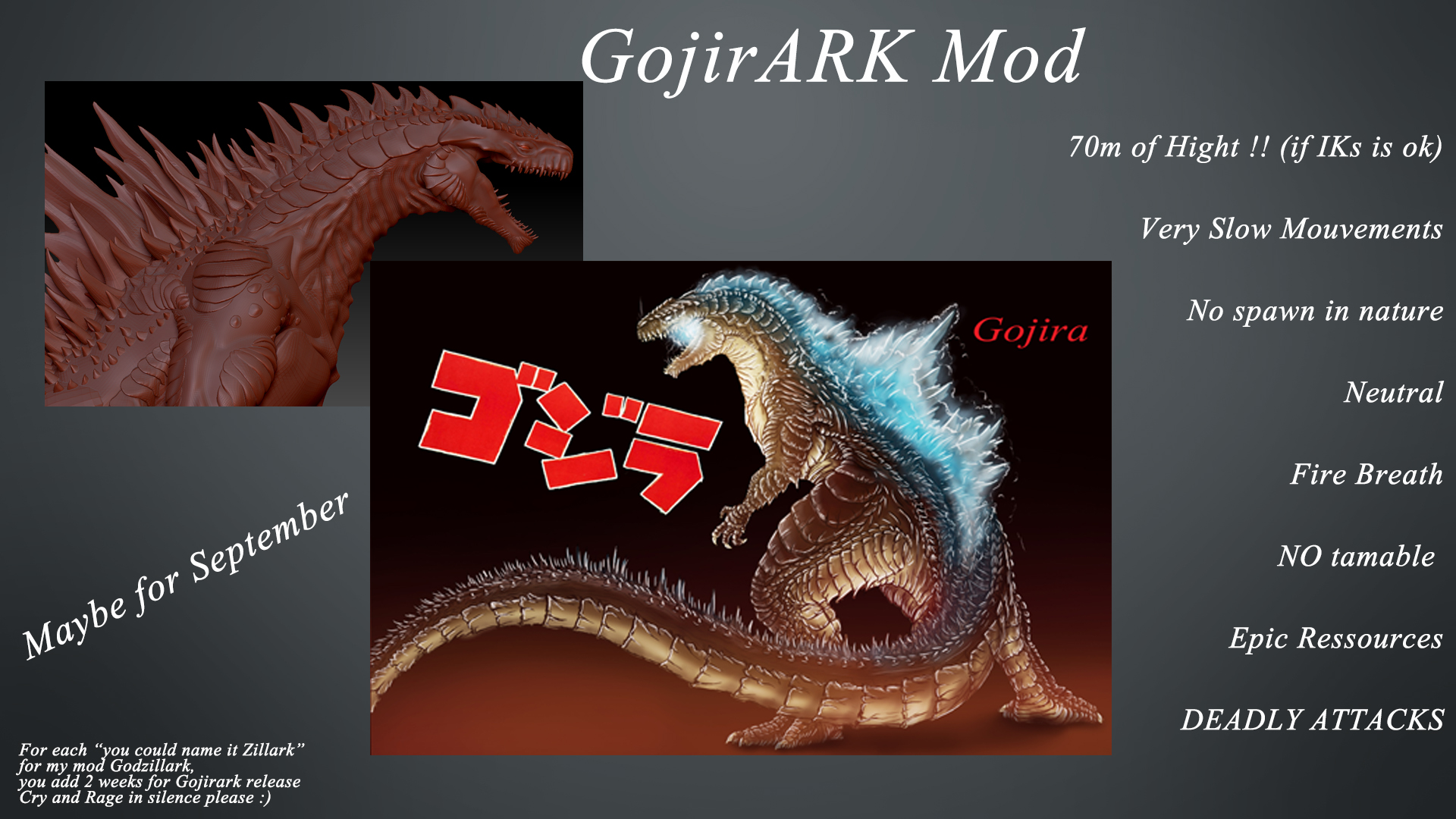 Godzilla mod page? :: ARK: Survival Evolved General Discussions