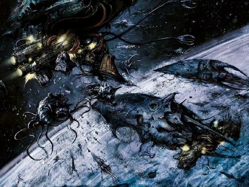 Мастерская Steam::Battlefleet Gothic: Tyranid Hive Fleet