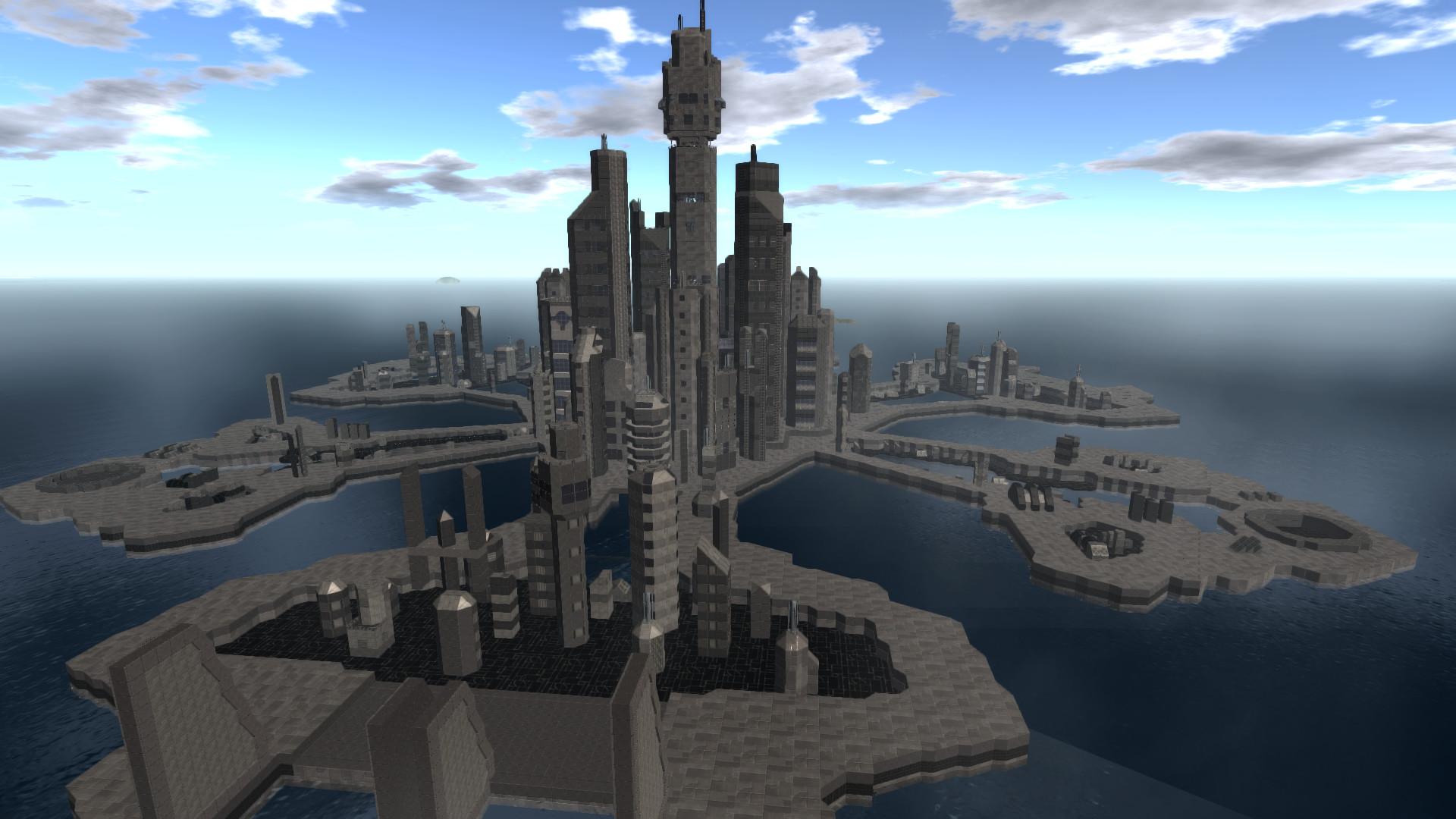 Stargate Atlantis-city