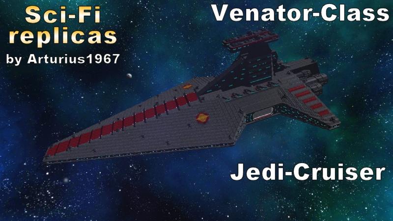 [ Discontinued ]  Venator Class Jedi Cruiser MKII