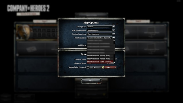 Steam Workshop Cheatcommands Mod Ii