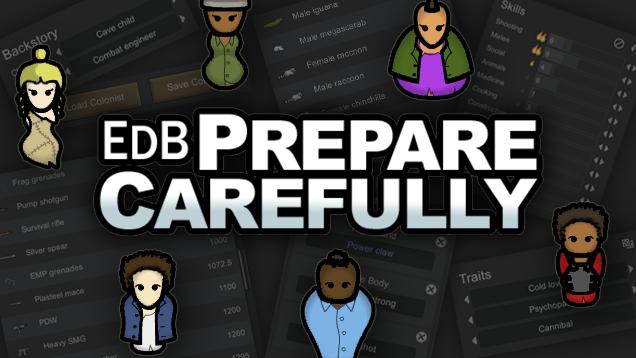 EdB Prepare Carefully