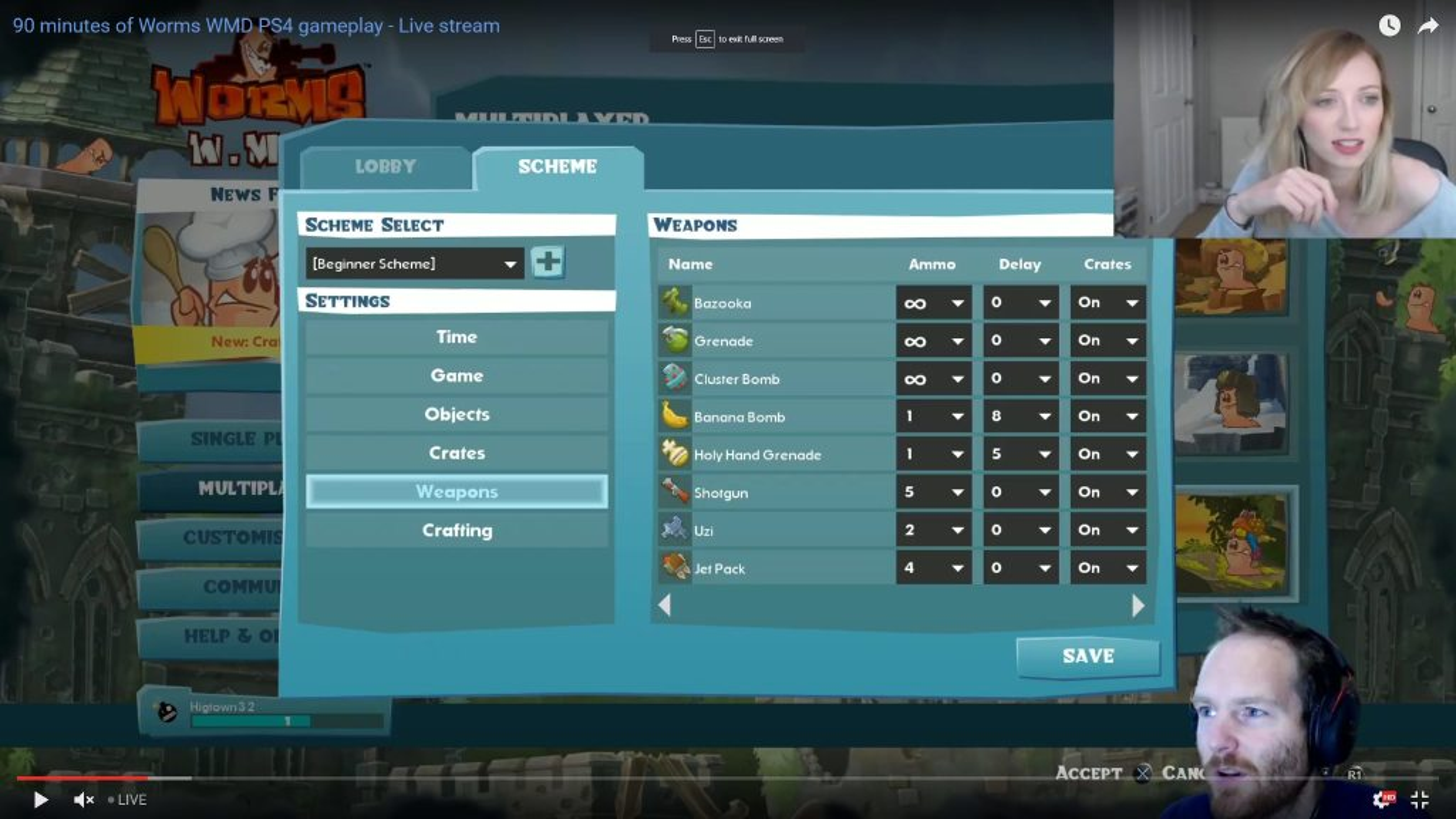 Steam Community :: Screenshot :: Worms : W.M.D. [PS4] Scheme Editor ...