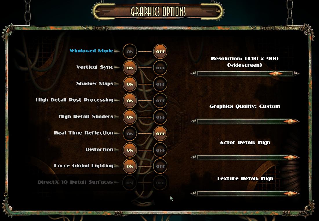 Comunidad Steam :: Guía :: Crashing of Bioshock 2 Solved