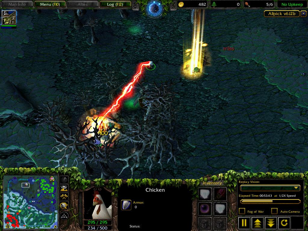steam community screenshot dota 1 6 12 chicken dagon days