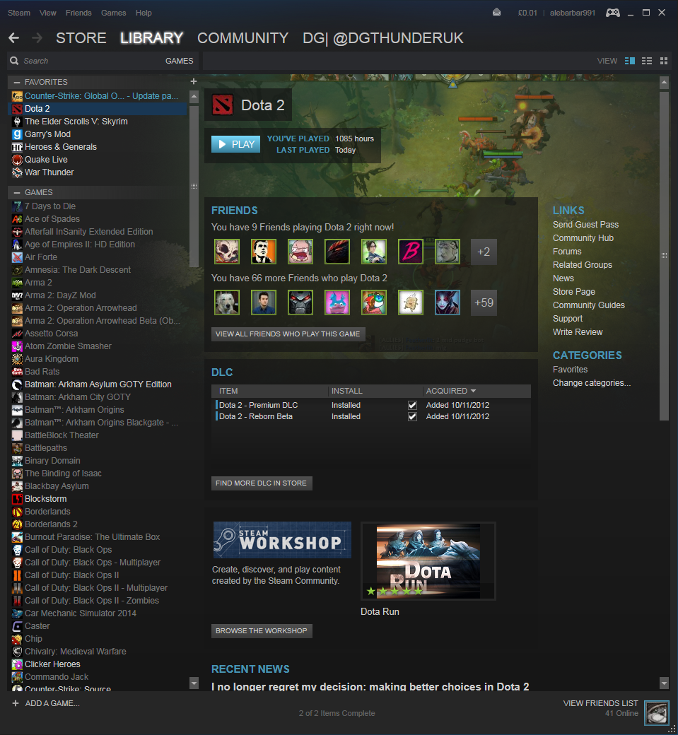 Dota 2 reborn notebook and desktop benchmarks - Go To The Play Tab And Select Dota 2 Reborn Beta