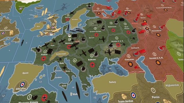 Steam Workshop :: Axis and Allies: Spring 1942