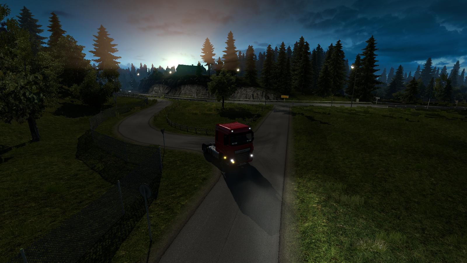 Скрытые и объездные дороги в Euro Truck Simulator 2