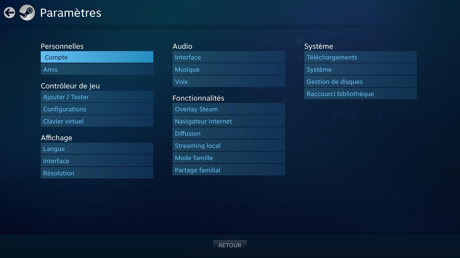 Steam community guide le steam controller pour les nuls for Ouvrir fenetre plein ecran