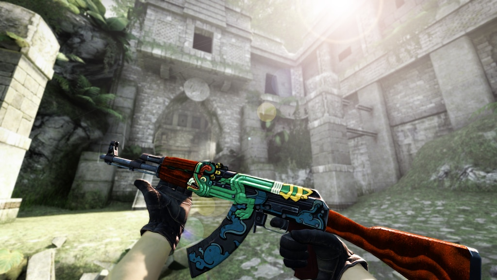 Steam Community Ak 47 Fire Serpent Factory New