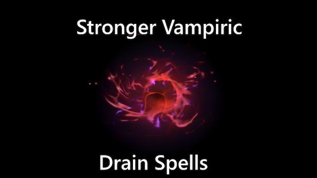 skyrim vampiric drain