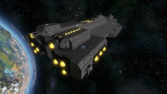Steam Workshop :: Mini UNSC Spirit of Fire