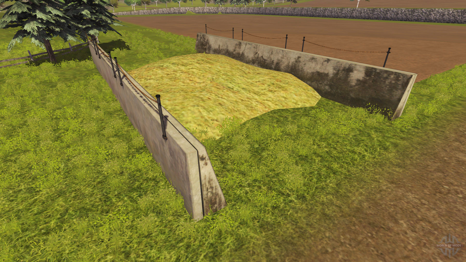 Farming Simulator 2015 Silage Bales