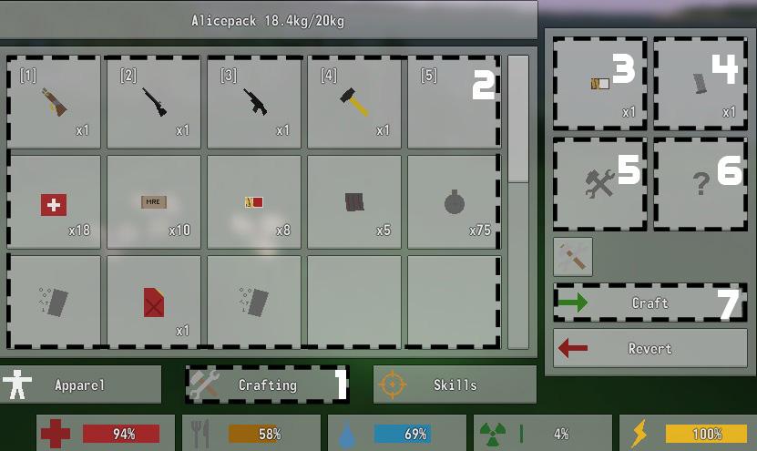 Steam community guide unturned crafting guide 2 2 5 for Door unturned