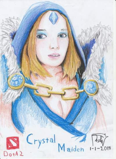 Steam Community :: :: Crystal Maiden (Drawing Pencils)
