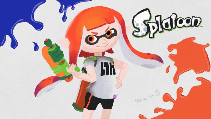 Komunita služby Steam :: :: Splatoon drawing