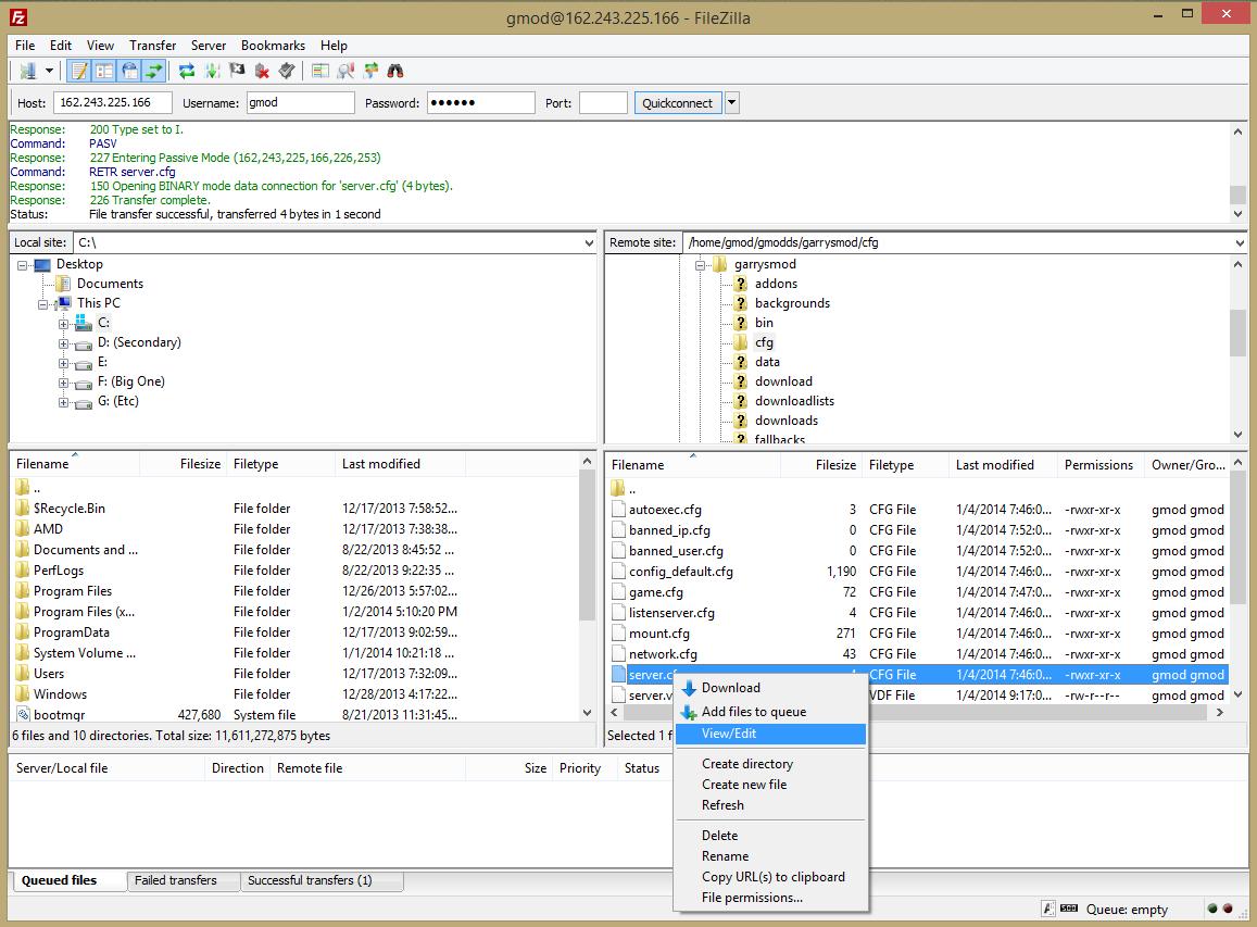 Скачать сервер cfg для css сервера чем плох хостинг в германии