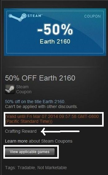 How to get steam discount coupons