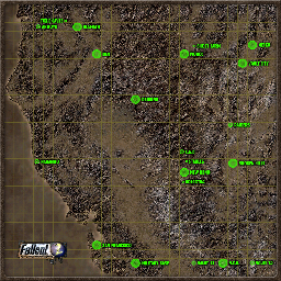 Steam Workshop :: Fallout 2 - World Map