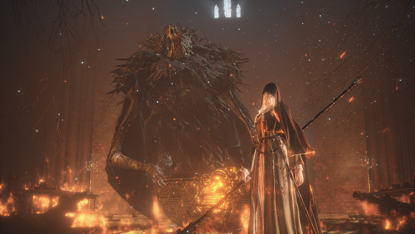 Steam Community Screenshot Sister Friede And Father Ariandel