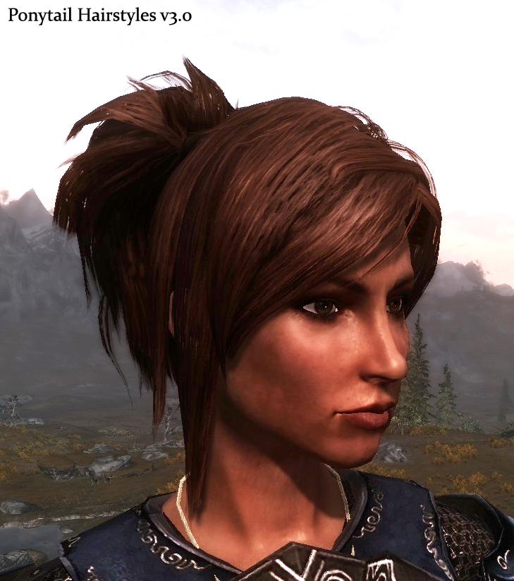 Steam Workshop :: Ponytail Hairstyles by Azar 2