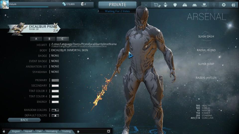 Steam Community Screenshot Immortal Skin Excalibur W Proto Armor Helmet