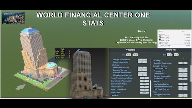 Steam Workshop :: World Financial Center One, Lower