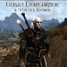 Steam Workshop Geralt Light Armor & Witcher Swords