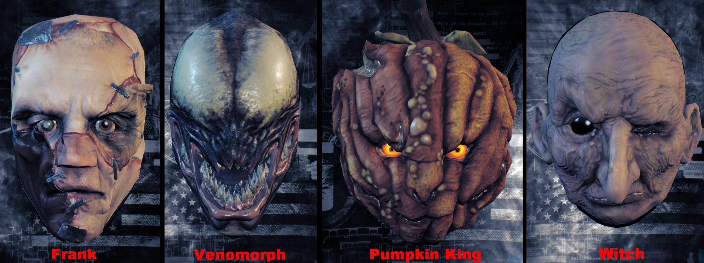 halloween masks - Tf2 Halloween Masks