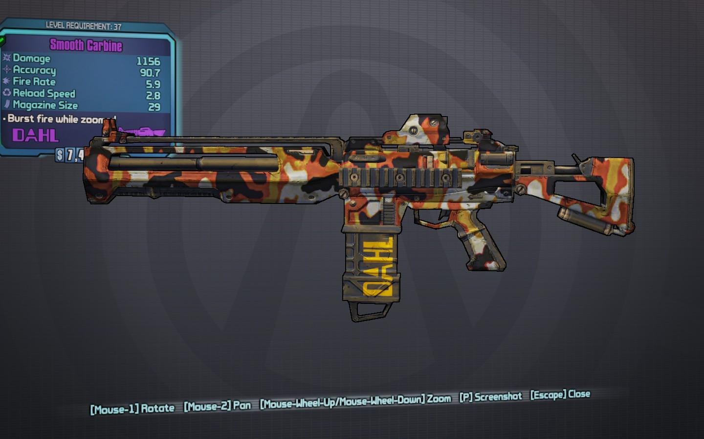 borderlands 2 modded weapons codes