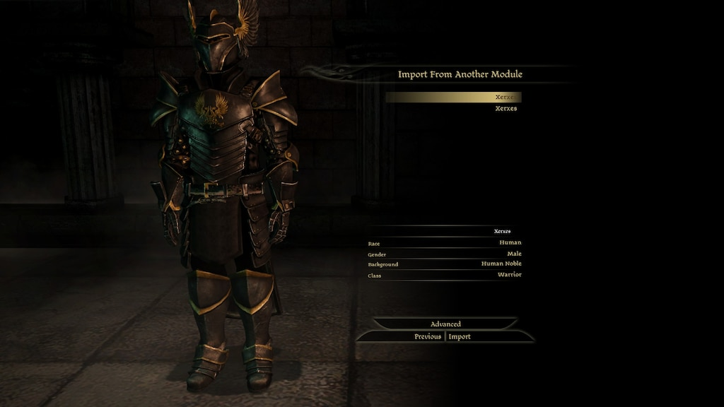 Steam Community :: Screenshot :: Xerxes Cousland, Commander of the