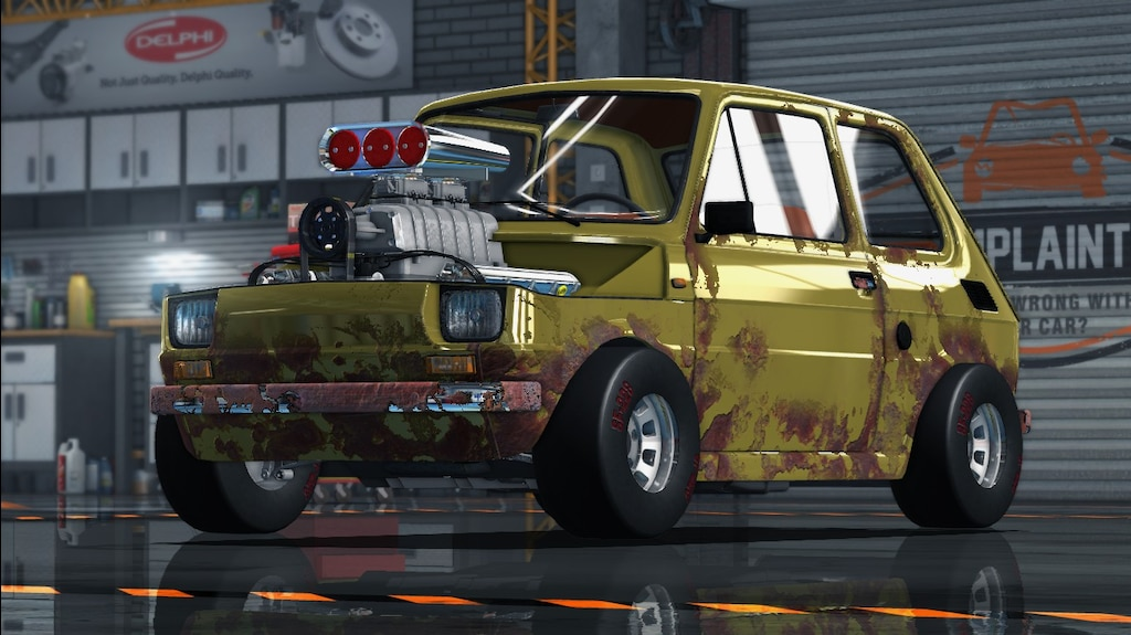 Car Mechanic Simulator 2015 Mods >> Steam Community Fiat 126p V8 Supercharger