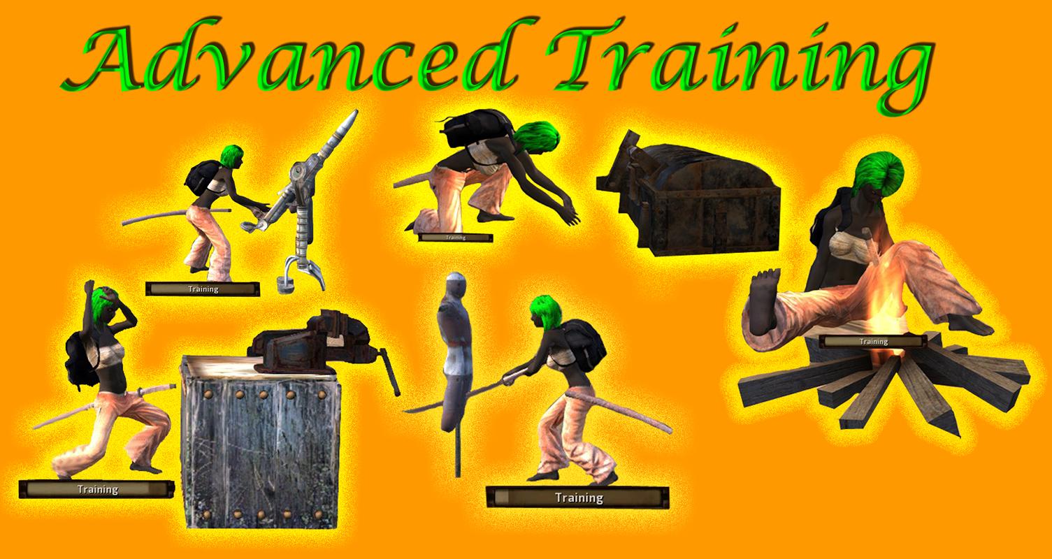 Advanced training dummies