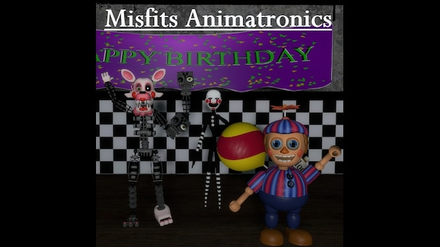 Steam Workshop :: Fnaf 2   Misfits Animatronics   NPCs +