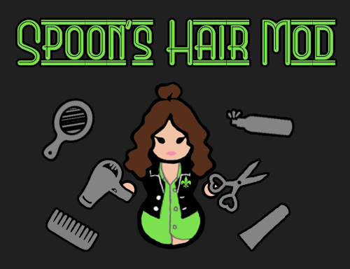 Spoons Hair Mod