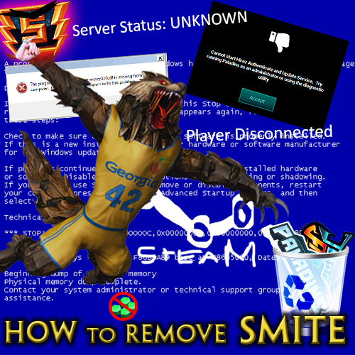 Steam Community :: Guide :: How to Completely Remove Smite