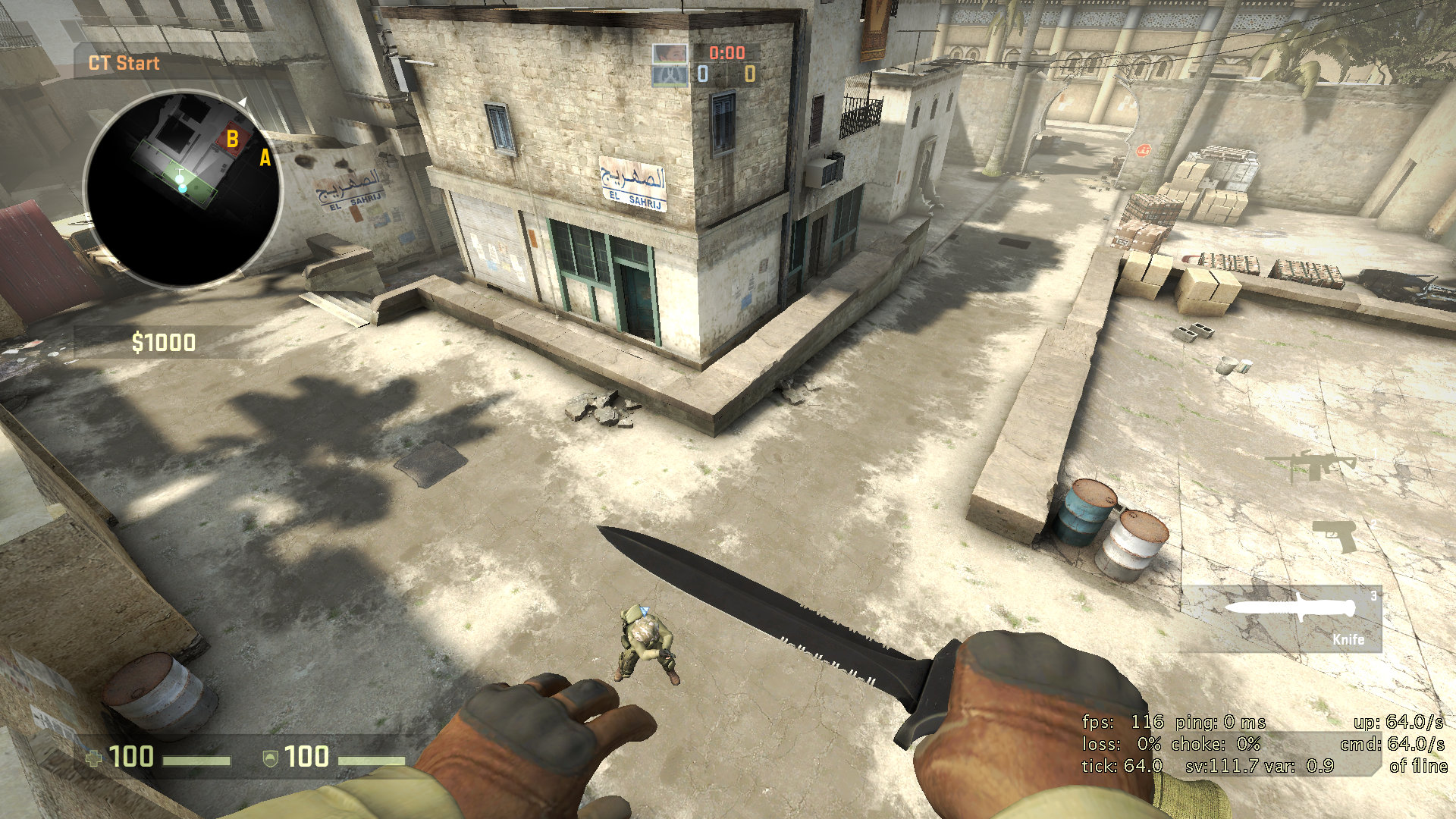 how to get high sync bhop csgo