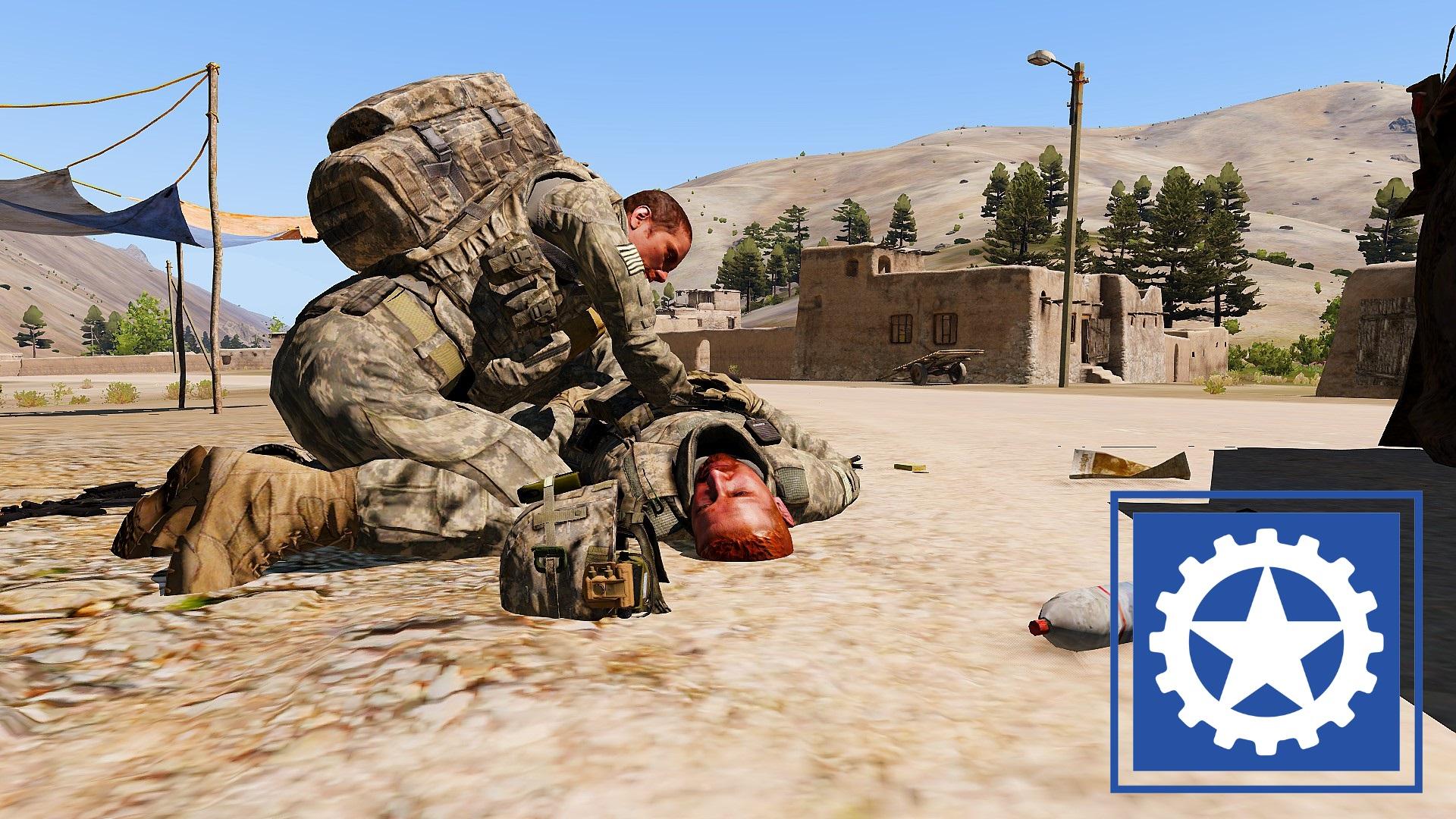 """(SP) """"Sakhe Ambush"""" -RHS: USAF"""