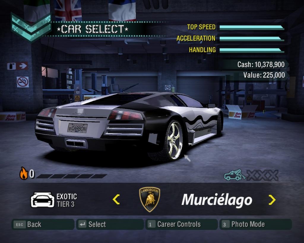 Steam Community :: Screenshot :: NFS Carbon Murcielago