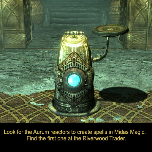 skyrim midas magic