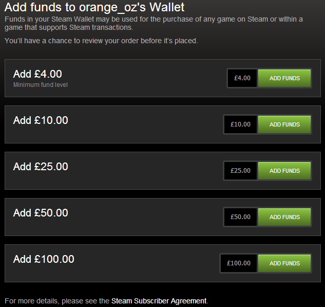 Steam Community Guide How To Add Specific Wallet Funds To Steam