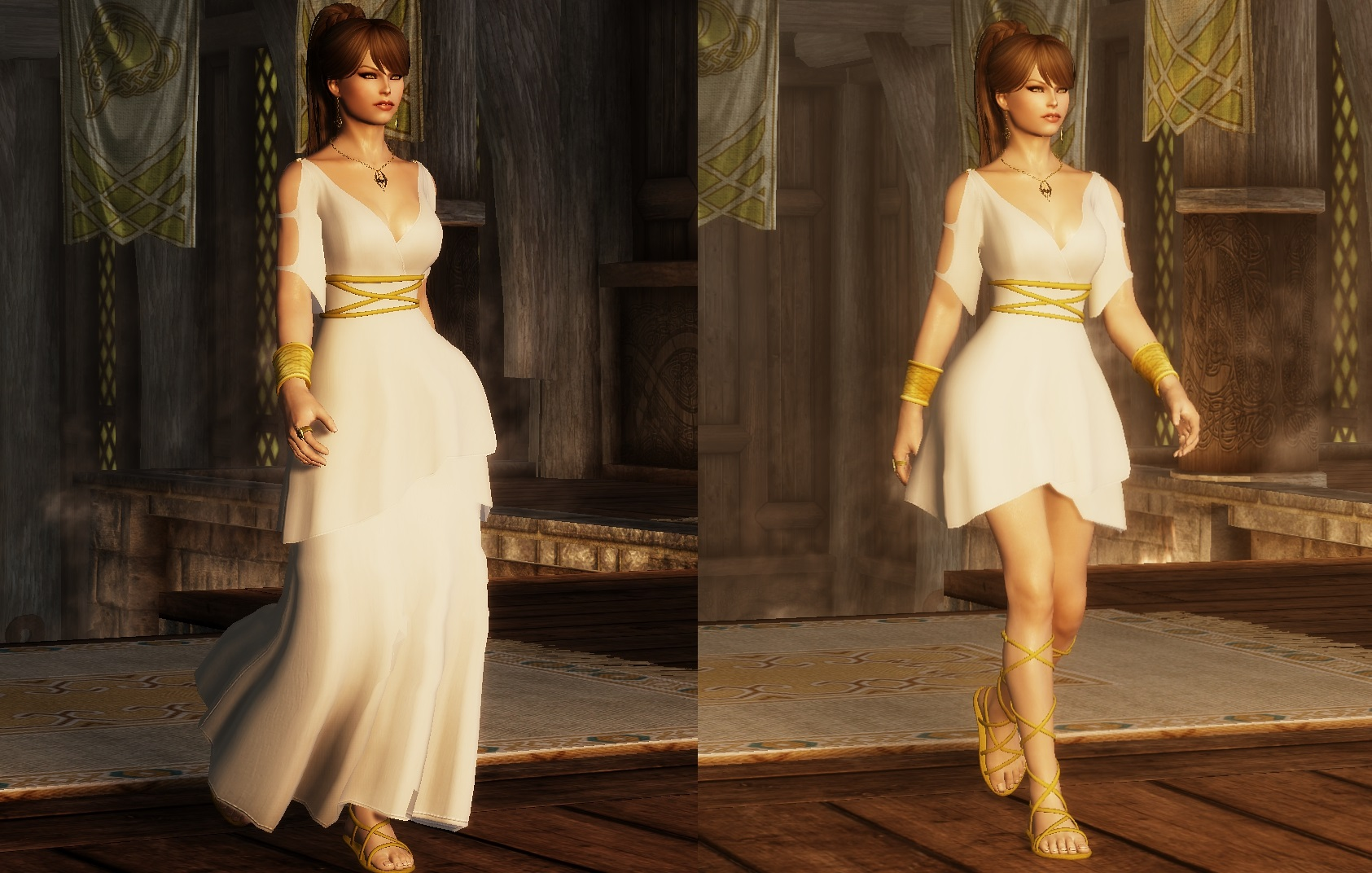 Skyrim Wedding Dress.Steam Workshop Ashara Imperial Outfit