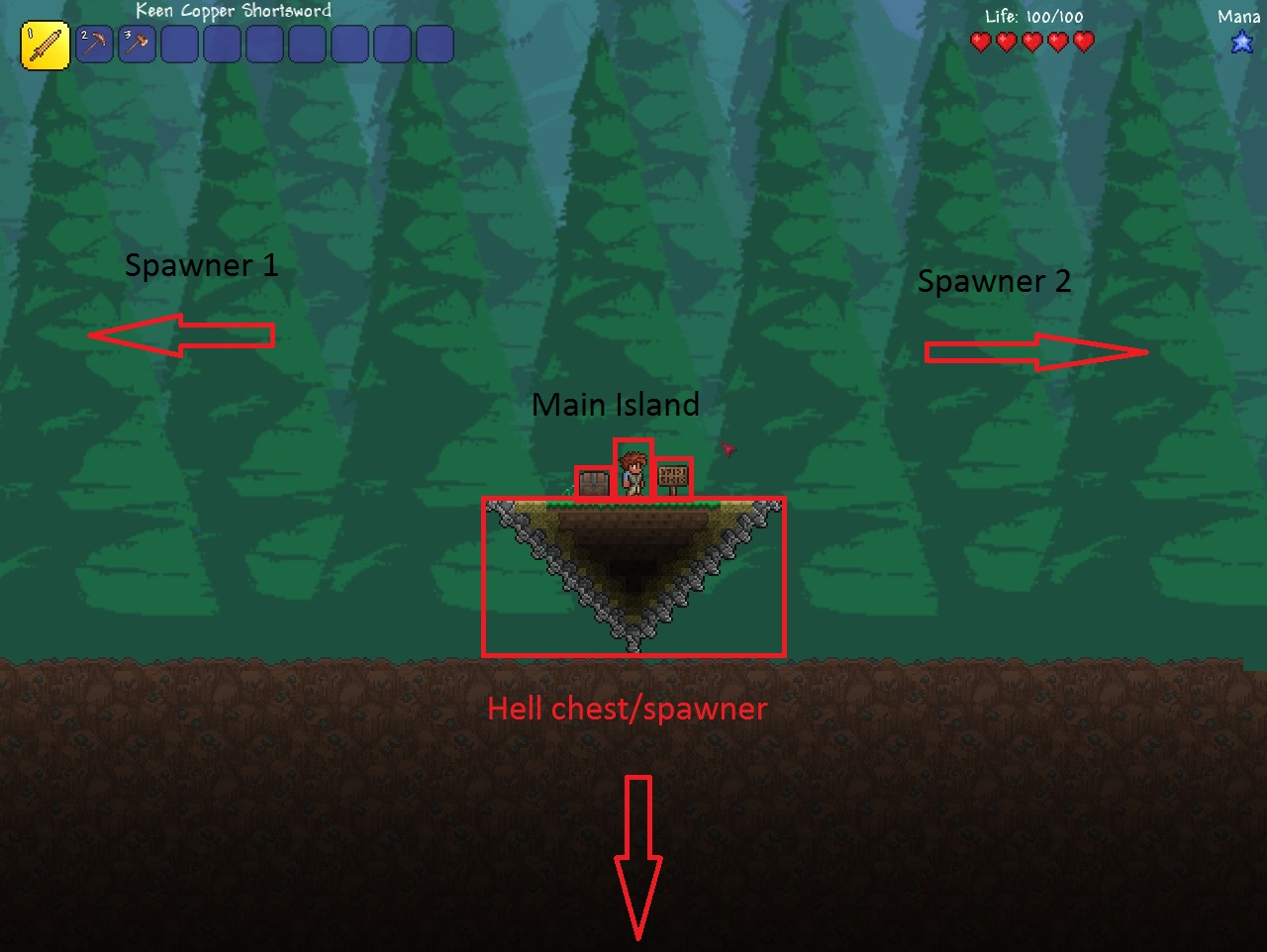 terraria item spawn