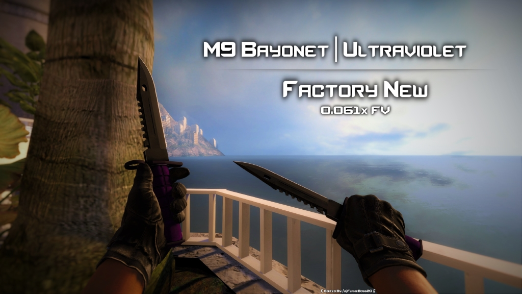 steam community factory new m9 bayonet ultraviolet